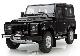 Модель автомобиля Land Rover Defender 90, Scale 1:18, Black LANDROVER