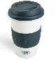 Керамическая термокружка Land Rover Travel Ceramic Mug, Navy/White LANDROVER