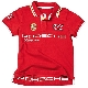 Детское поло Porsche Children's Polo Shirt, Red PORSCHE