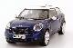 Модель автомобиля Mini Paceman (R61) Blue MINI