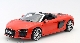 Модель автомобиля Audi R8 Spyder V10, Dynamite Red, Scale 1:18 VAG