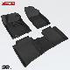 КОВРИКИ САЛОНА 3D (велюровые,черные) SOTRA