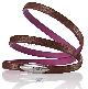 Двухцветный женский кожаный браслет Audi Women's leather bracelet, VAG