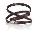 Мужской кожаный браслет Audi Men's leather bracelet, VAG