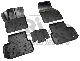 КОВРИКИ САЛОНА (полиуретановые,серые) NORPLAST