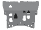 ЗАЩИТА КАРТЕРА 2.0T 320л.с (алюминий,5 мм) МЕТАЛЛОПРОДУКЦИЯ