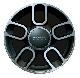 ДИСК КОЛЕСНЫЙ  R15 Sport (черный,4 штуки) FIAT