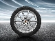КОМПЛЕКТ ЗИМНИХ КОЛЕС В СБОРЕ R20 Cayenne Design Michelin winter tyres 275/45 R20 + 305/40 R20, with TPMS PORSCHE