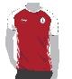 Футболка с коротким рукавом, красная, размер L, FIFA 2018 KIA