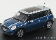 Модель автомобиля Mini Clubman Cooper S Lightning Blue, MINI
