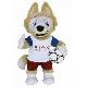Мягкая игрушка Волк-Забивака-25см, FIFA 2018 KIA