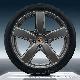 КОМПЛЕКТ ЛЕТНИХ КОЛЕС R21 Sport Classic summer wheels set, rims 10J x 21 ET50 + summer tyres 295/35 R21, Platinum PORSCHE