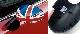 НАКЛАДКА НА ЗЕРКАЛА БЕЗ ФУНКЦИИ СКЛАДЫВАНИЯ  Union Jack (левая) MINI