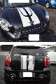 НАКЛЕЙКА КОМПЛЕКТ (капот и крышку багажника, белые) MINI