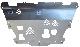 ЗАЩИТА КАРТЕРА (алюминий 4мм) АВС-ДИЗАЙН