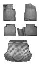 КОВРИКИ САЛОНА+БАГАЖНИК  (Luxe, Prestige, GT-line ,полиуретановые) KIA