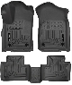 КОВРИКИ САЛОНА (черные,серые,бежевые) HUSKY LINERS