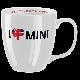 Чашка I love Mini Mug White MINI