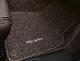 КОВРИКИ САЛОНА КОРИЧНЕВЫЕ (текстильные с окантовкой из нубука) PORSCHE