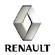 Накладка решетки радиатора (плас) RENAULT